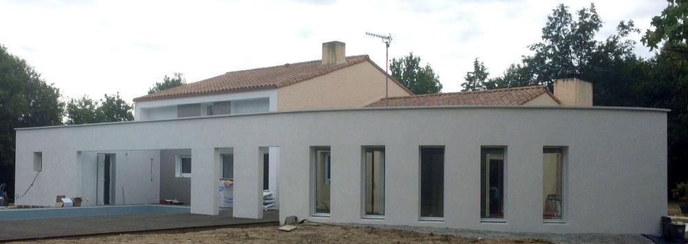 Extension d 39 une habitation venansault 85190 agesibat for Extension habitation